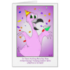 Party Bird: Gay Birthday Card