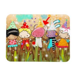 Party Birthday Premium Magnet