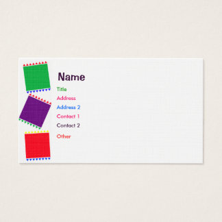 Party Blocks Business Card
