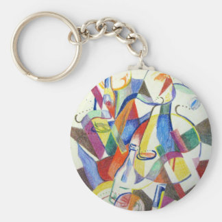 Party Bottles Keychain