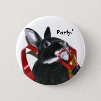 Party Bunny Button