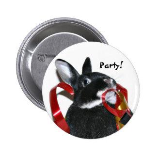Party Bunny Buttons