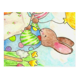 Party Bunny postcard