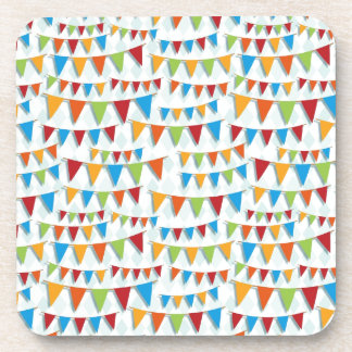 Party Bunting Drink Coaster