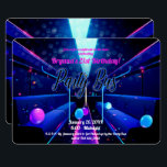 """Party Bus Glow Party Club Hopping 21st Birthday Invitation<br><div class=""""desc"""">Customize for your event</div>"""