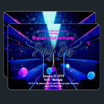 "Party Bus Glow Party Club Hopping 21st Birthday Invitation<br><div class=""desc"">Customize for your event</div>"