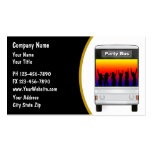 Party Bus Rental Business Card