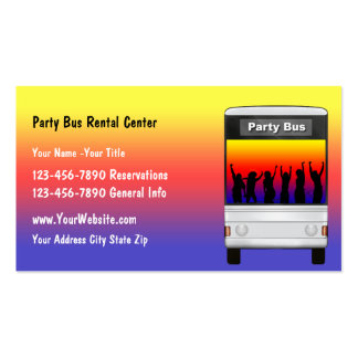 Party Bus Business Idea