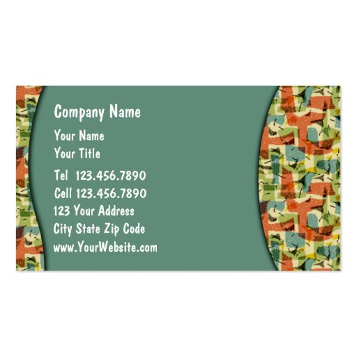 Party Business Cards