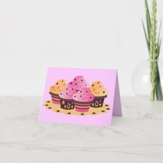 Party Cakes card