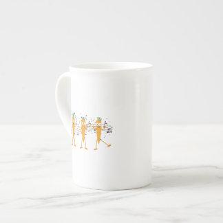 Party carrots tea cup