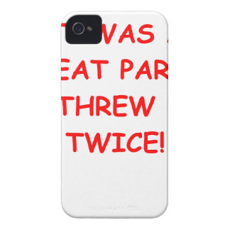 party Case-Mate iPhone 4 case