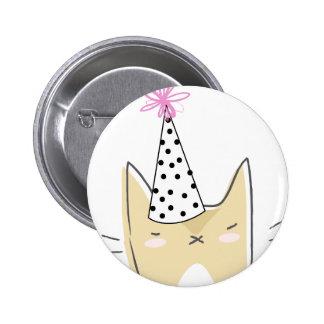 Party Cat Button