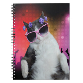 Party cat notebook