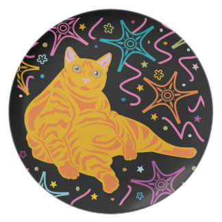 Party Cat Party Plate