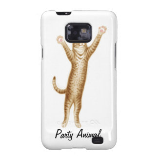 Party Cat Samsung Galaxy S Case