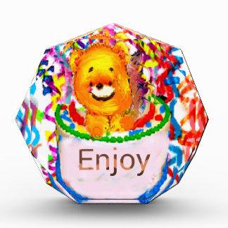 Party celebration acrylic award