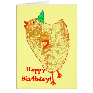 party chick, HappyBirthday! Card