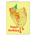 party chick, HappyBirthday! Greeting Card