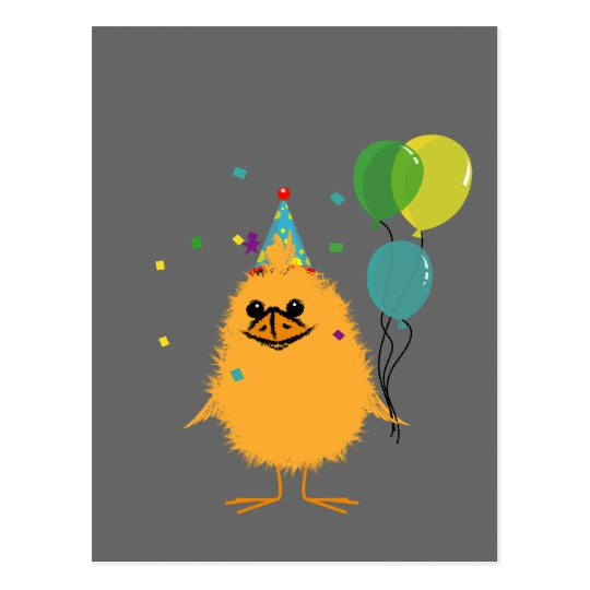 Party Chick Postcard