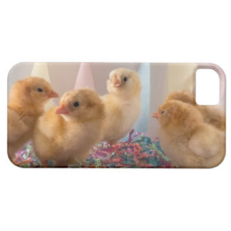 Party Chicks Yellow Baby Chickens Streamers iPhone 5 Cases