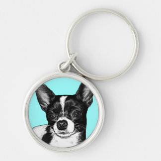 Party Chihuahua Keychain