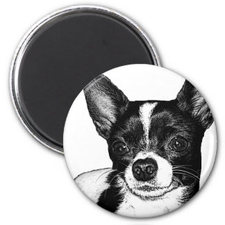 Party Chihuahua Magnet