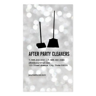 Party Cleaners / Bokeh Business Card