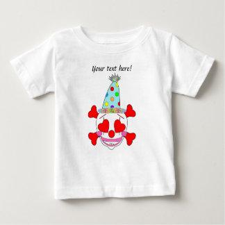 Party Clown Baby Skull Shirts