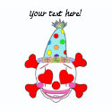 Party Clown Baby Skull shirt