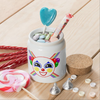 Party Clown Candy Jars