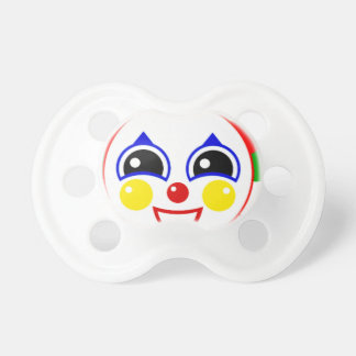 Party Clown Baby Pacifier