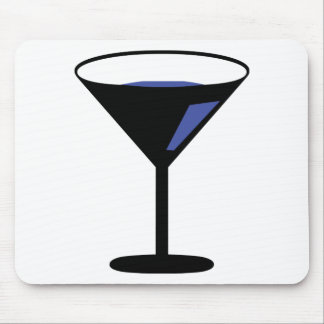party cocktail icon mouse pad