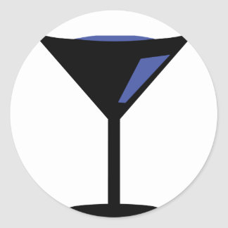 party cocktail icon stickers