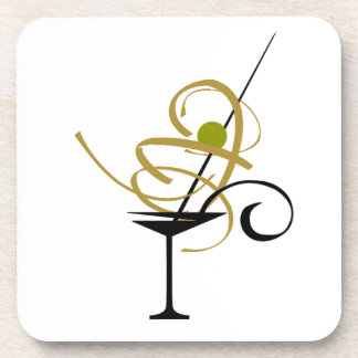 PARTY COCKTAIL MARTINI GLASS, DRINKS BEVERAGE COASTER