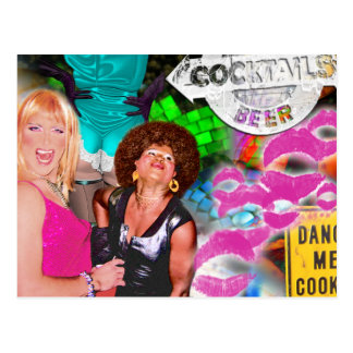 Party Collage Postcard