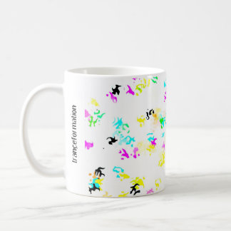 Party Colored Molecules Coffee Mugs