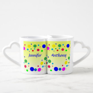 Party Colors Wedding Lovers Mugs