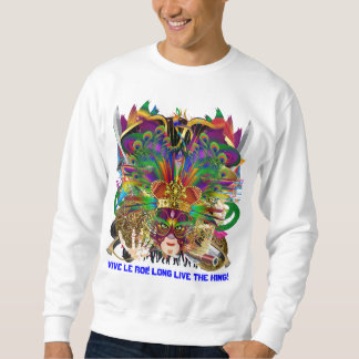 Party Combo Kings DJ. Dragon, Pirate, Mardi Gras Sweatshirt