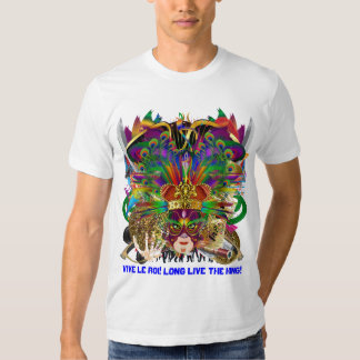 Party Combo Kings DJ. Dragon, Pirate, Mardi Gras T-Shirt