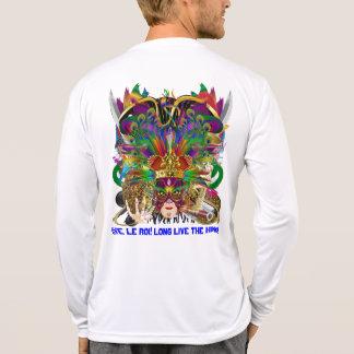 Party Combo Kings DJ. Dragon, Pirate, Mardi Gras Tshirt