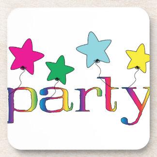 Party Beverage Coaster