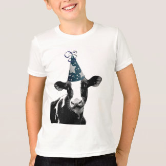 Party Cow -  Dairy Style Celebration T-Shirt