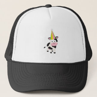 Party Cow Trucker Hat