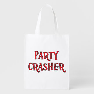 Party Crasher Grocery Bag