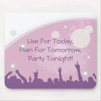 Party Crowd Mousepads