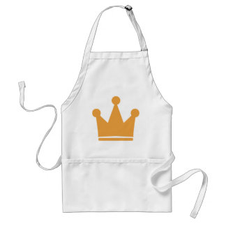 party crown icon adult apron