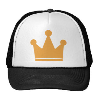 party crown icon trucker hat