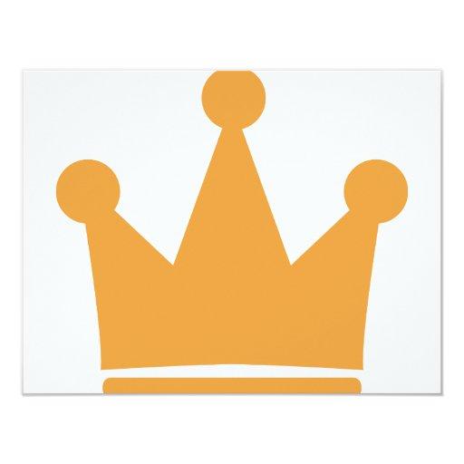 party crown icon invitation