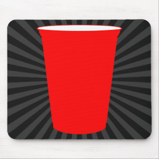 party cup mouse pad
